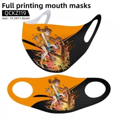 4 Styles The Seven Deadly Sins  Mask Anime Face Mask Can Be Customized