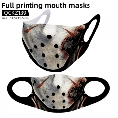 Friday the 13th Mask Anime Face Mask Can Be Customized