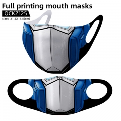 2 Styles Transformers Mask Anime Face Mask Can Be Customized