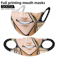 Dr.STONE Mask Anime Face Mask Can Be Customized