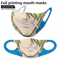 One Piece Mask Anime Face Mask Can Be Customized