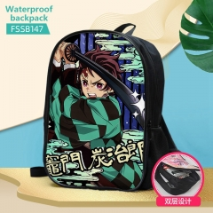6 Styles Demon Slayer: Kimetsu no Yaiba Anime Custom Design Cosplay Cartoon Waterproof Anime Backpack Bag