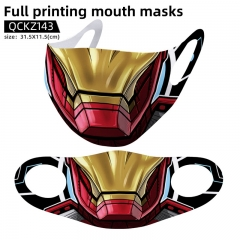 Iron Man Mask Anime Face Mask Can Be Customized
